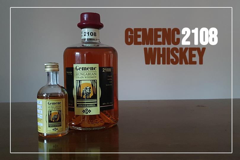 Gemenc 2108 whiskey